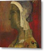 Symbolic Head, 1890 Metal Print