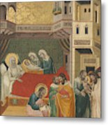 The Birth, Naming, And Circumcision Of Saint John The Baptist Metal Print