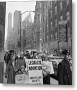 The Fight For Womens Reproductive Rights Metal Print