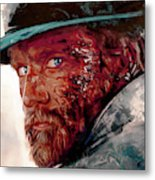The Wounded Cowboy Metal Print