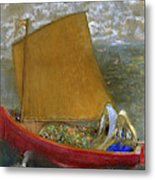The Yellow Sail, 1905 Metal Print