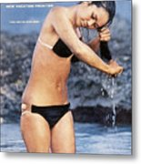 Turia Mau Swimsuit 1968 Sports Illustrated Cover Metal Print