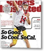 University Of Southern California Sam Darnold, 2017 College Sports Illustrated Cover Metal Print