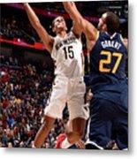 Utah Jazz V New Orleans Pelicans Metal Print