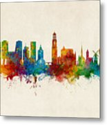 Utrecht The Netherlands Skyline Metal Print
