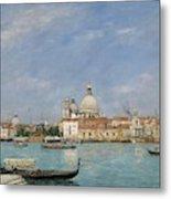 Venice, Santa Maria Della Salute From San Giorgio - Digital Remastered Edition Metal Print