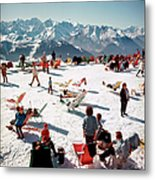 Verbier Vacation Metal Print
