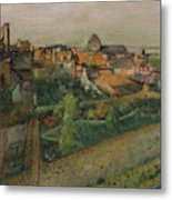 View Of Saint Valery Sur Somme  Metal Print