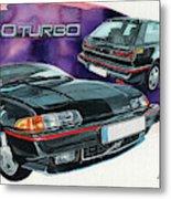 Volvo 480 Turbo Metal Print