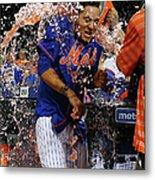 Washington Nationals V New York Mets 1 Metal Print