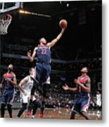 Washington Wizards V Brooklyn Nets Metal Print