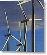 Wind Power Art  Metal Print