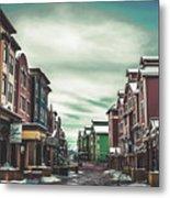Winter Morning - Park City, Utah Metal Print