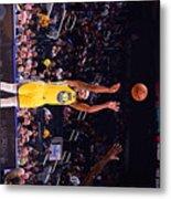 Charlotte Hornets V Golden State Metal Print