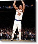 Indiana Pacers V New York Knicks Metal Print