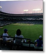 Philadelphia Phillies V Chicago Cubs Metal Print