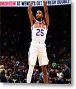 Phoenix Suns V Denver Nuggets Metal Print