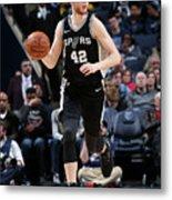 San Antonio Spurs V Memphis Grizzlies Metal Print