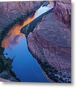 Sand Stone Rock Formation In Sw Usa Metal Print