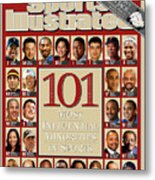 101 Most Influential Minorities In Sports Sports Illustrated Cover Metal Print