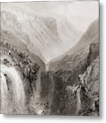 Head Of Glenmalure, County Wicklow, Ireland. Metal Print