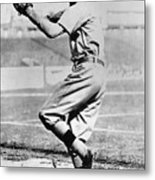 National Baseball Hall Of Fame Library 107 Metal Print