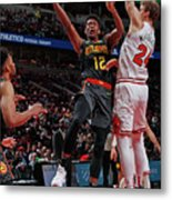 Atlanta Hawks V Chicago Bulls Metal Print
