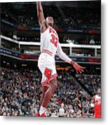 Chicago Bulls V Sacramento Kings Metal Print