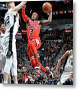 Chicago Bulls V San Antonio Spurs Metal Print