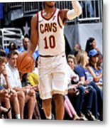 Cleveland Cavaliers V Orlando Magic Metal Print