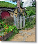 Hobbiton - New Zealand Metal Print