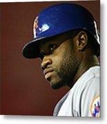 New York Mets V Arizona Diamondbacks Metal Print