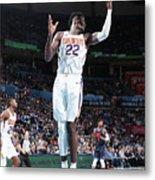 Phoenix Suns V Oklahoma City Thunder Metal Print