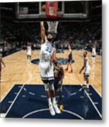 Utah Jazz V Minnesota Timberwolves Metal Print