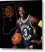 2018-19 Indiana Pacers Media Day Metal Print