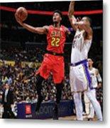 Atlanta Hawks V Los Angeles Lakers Metal Print