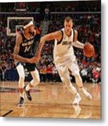 Dallas Mavericks V New Orleans Pelicans Metal Print