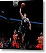 Atlanta Hawks V Brooklyn Nets Metal Print