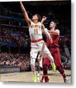 Atlanta Hawks V Cleveland Cavaliers Metal Print