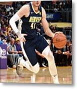 Denver Nuggets V Los Angeles Lakers Metal Print