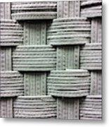 Fabric Background Metal Print
