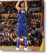 La Clippers V Los Angeles Lakers Metal Print