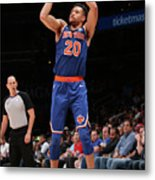 New York Knicks V Washington Wizards Metal Print