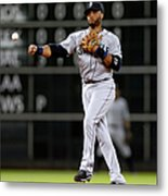 Seattle Mariners V Houston Astros Metal Print