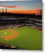 Washington Nationals V New York Mets Metal Print