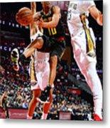 New Orleans Pelicans V Atlanta Hawks Metal Print