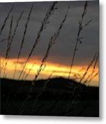 Photograph Of A Sunset Metal Print