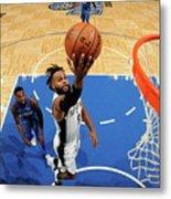 San Antonio Spurs V Orlando Magic Metal Print