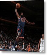 Brooklyn Nets V New York Knicks Metal Print