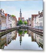 Brugge - Belgium Metal Print